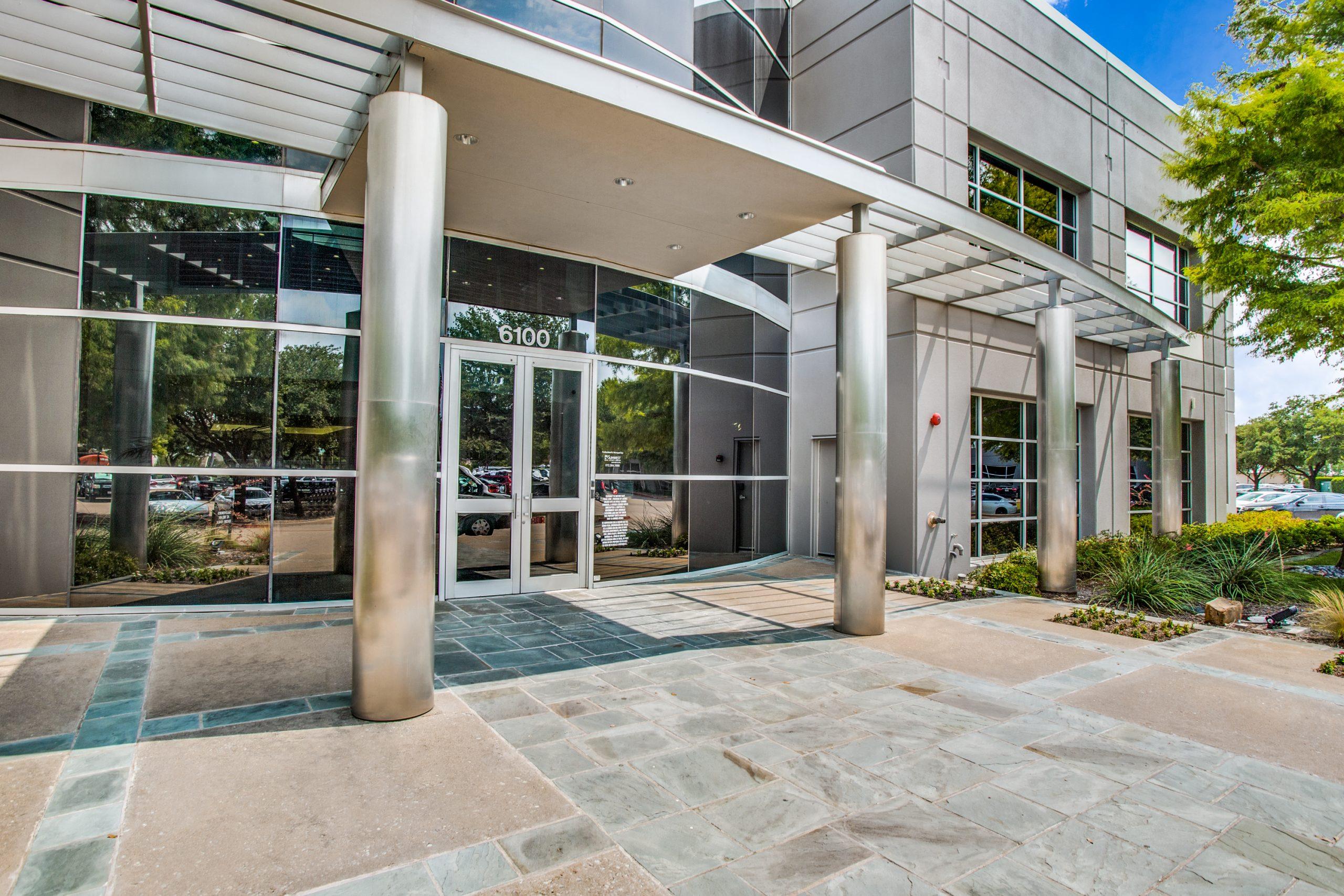 6100 Building Entrance