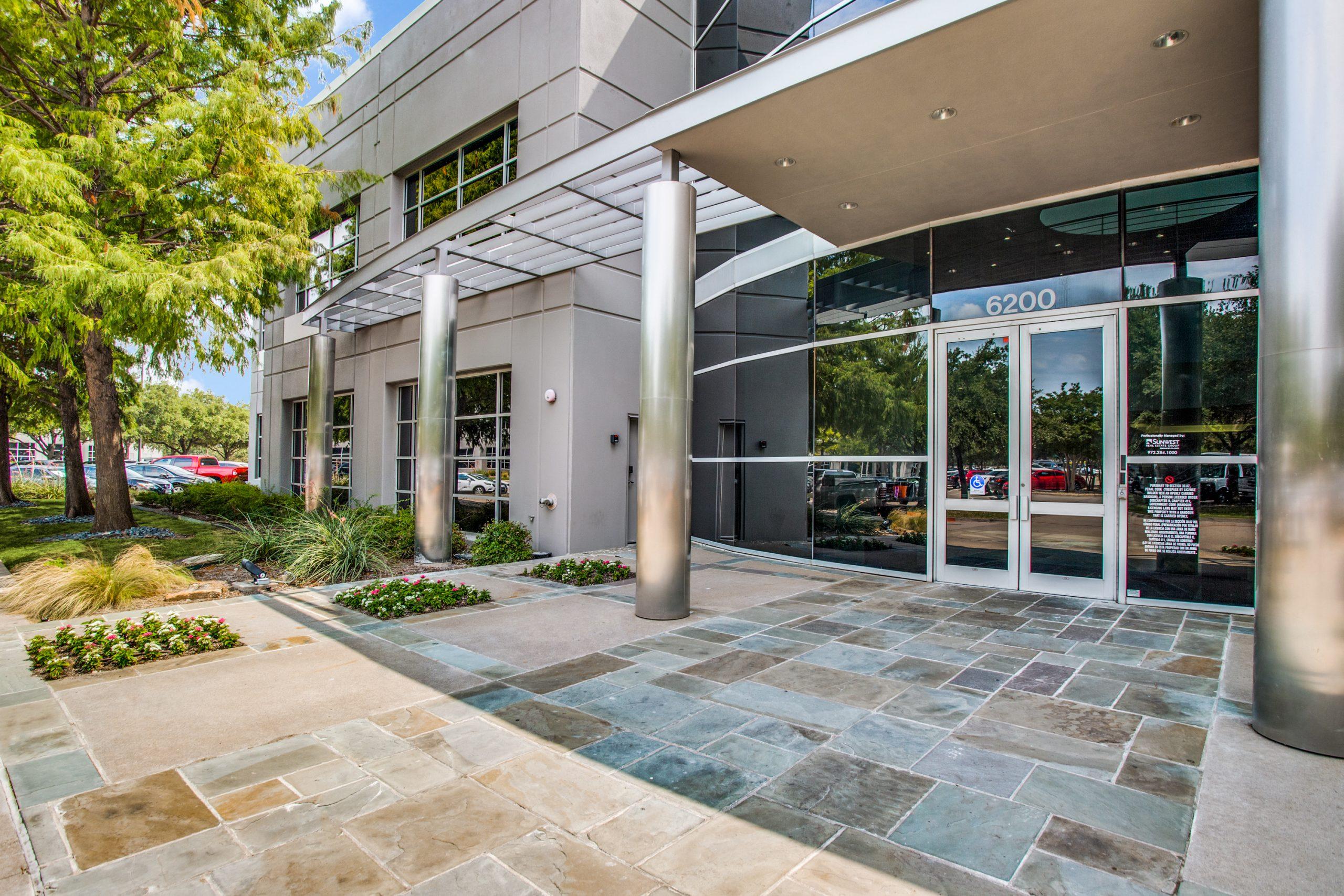6200 Building Entrance